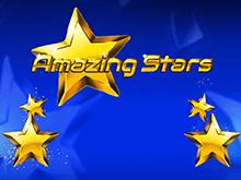 Качественная графика и звук в слоте Изумительные Звезды